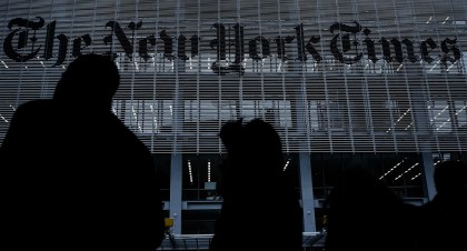 New York Times - Transformación Digital. Photo by The Guardian