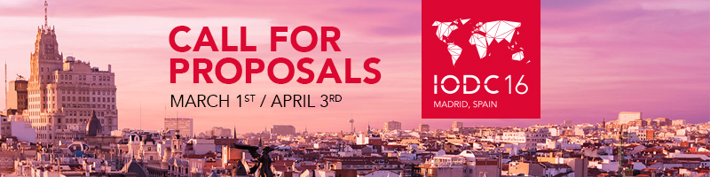 Call for Proposals IODC